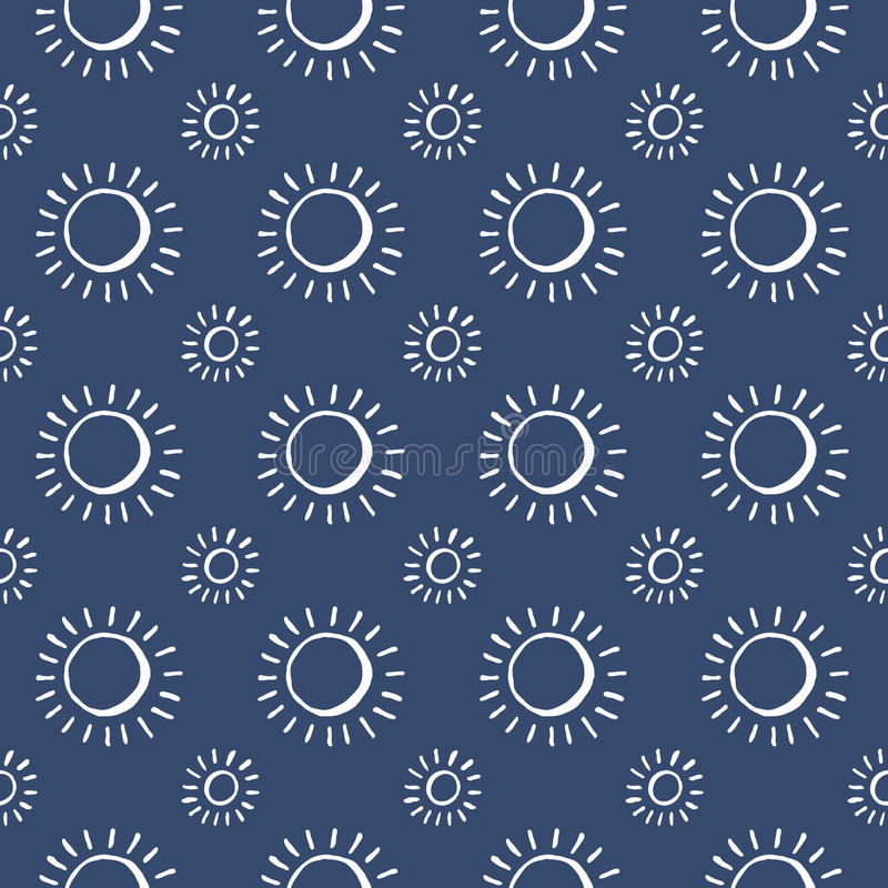 Set of blue and white vector seamless pattern. Scrapbook design elements. Abstract hand drawn fabric texture. Simple. Wrapping. Summer ornament backdrop royalty free illustration