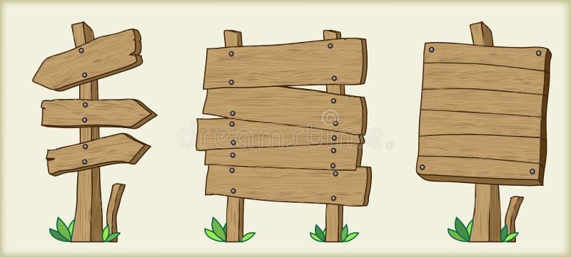 Download Set of boards stock vector. Illustration of decoration - 25979009