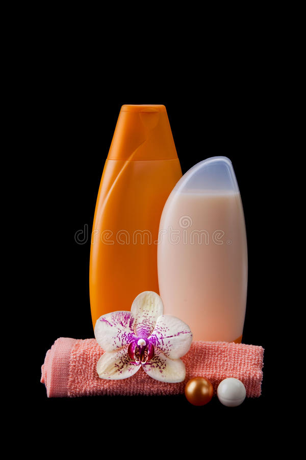 Set of body care stock photography
