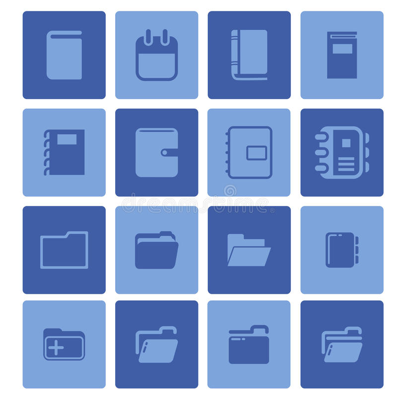 Set Briefpapier lizenzfreies stockbild
