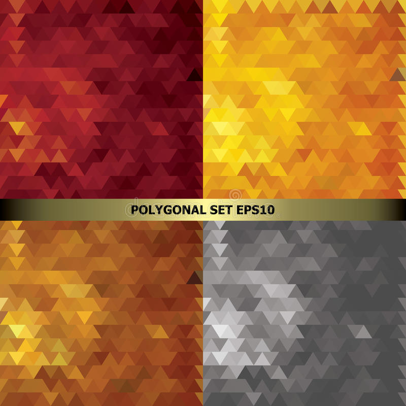 Set in bright gold red and silver colors stock image