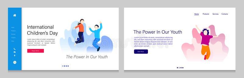 Set bundle of children. Universal children`s day icon set. Children playing vector illustration. vector illustration