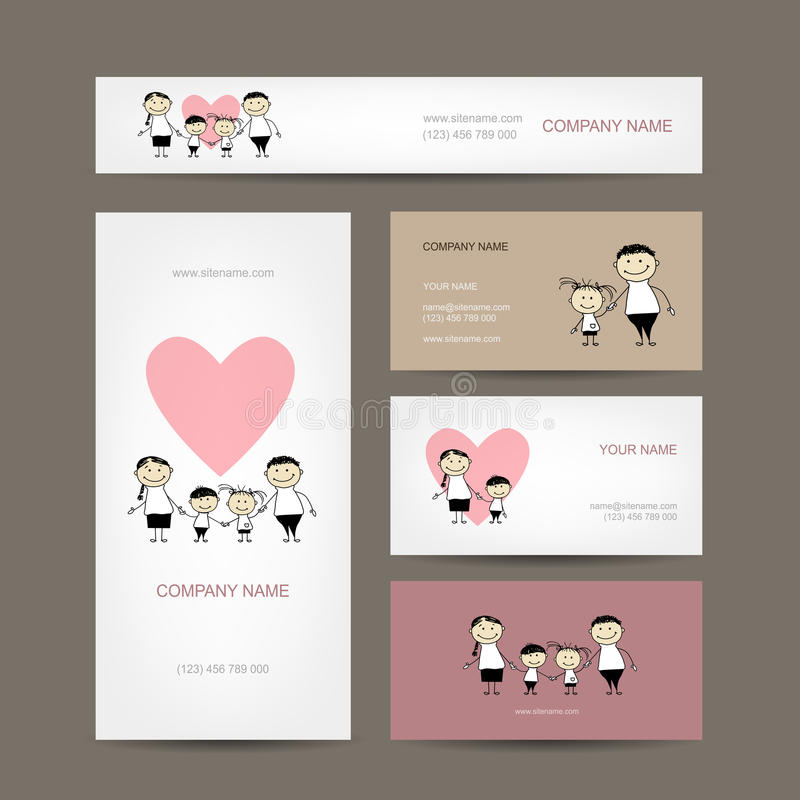 Cute Family Business Card Ideas - Business Card Ideas - etadam.info