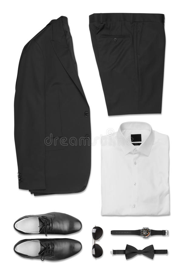 Set of Business Clothes royalty free stock photo