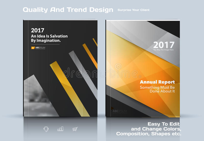 Set of Business vector template, brochure design, abstract annual report, cover modern layout, flyer in A4. Business vector template, brochure design, abstract vector illustration