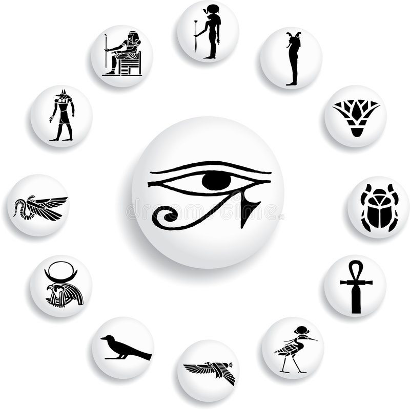Free Set Buttons - 30_B. Egypt Stock Photography - 6966332
