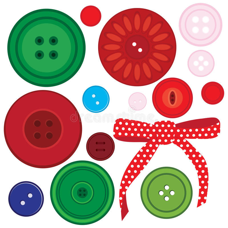 Set of buttons, design elements. stock photography