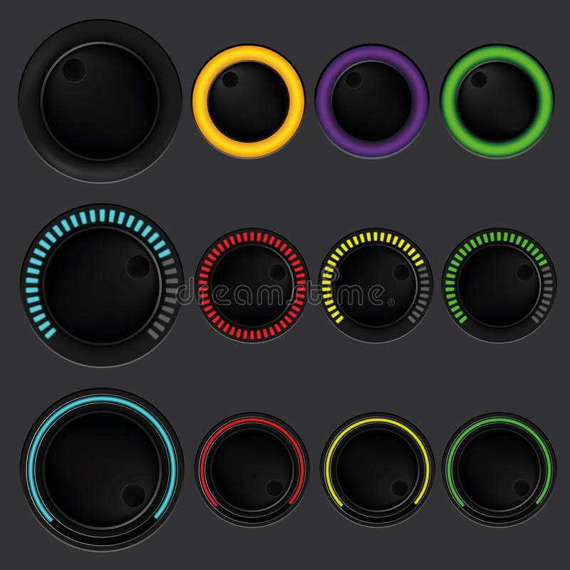 Download Set Of Buttons, Keys, And Icons Design For IT, Tec Stock Vector - Image: 31740255