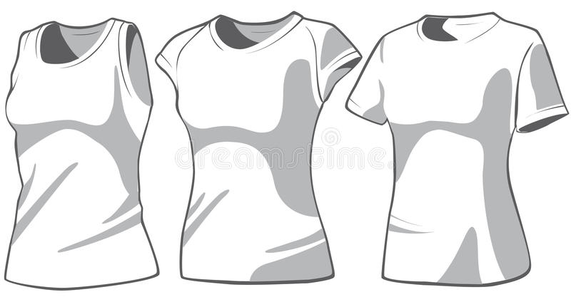 Download Set Of The Casual Woman's Wear Stock Vector - Image: 11834190