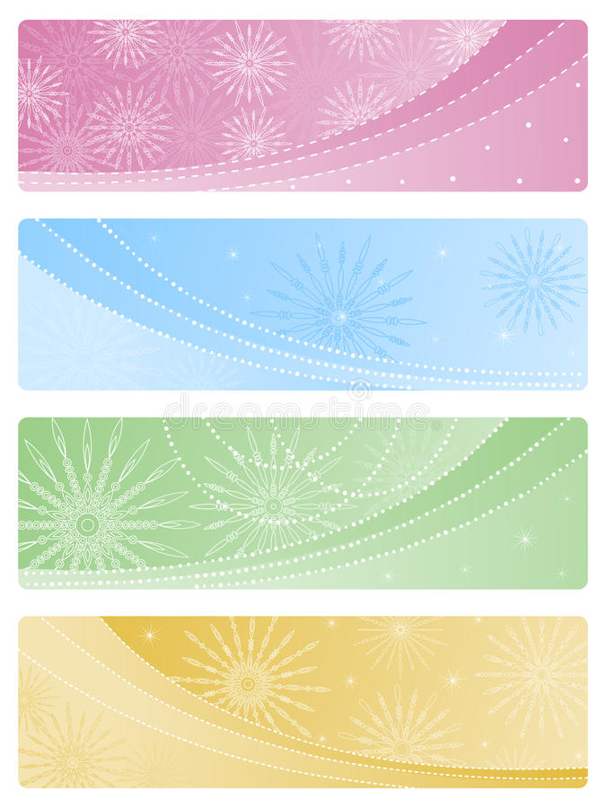 Download Set Of Christmas Backgrounds. Royalty Free Stock Images - Image: 16767549