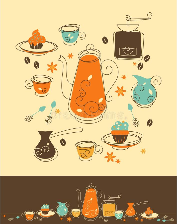 Download Coffee Set Royalty Free Stock Photos - Image: 29790498