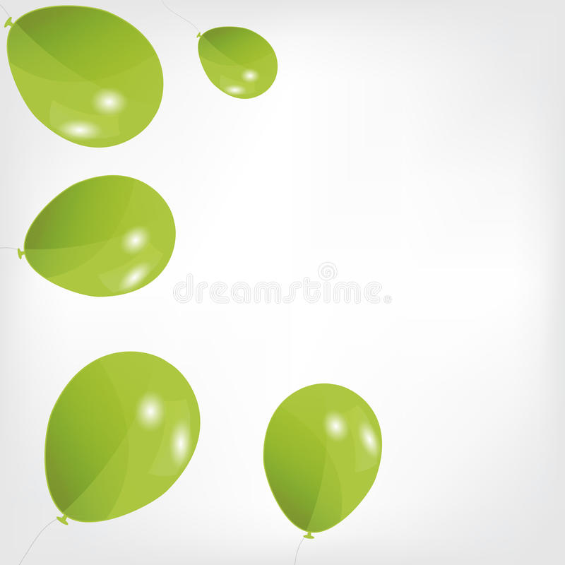 Download Set Of Colored Balloons, Vector Illustration. EPS Stock Vector - Image: 27869726