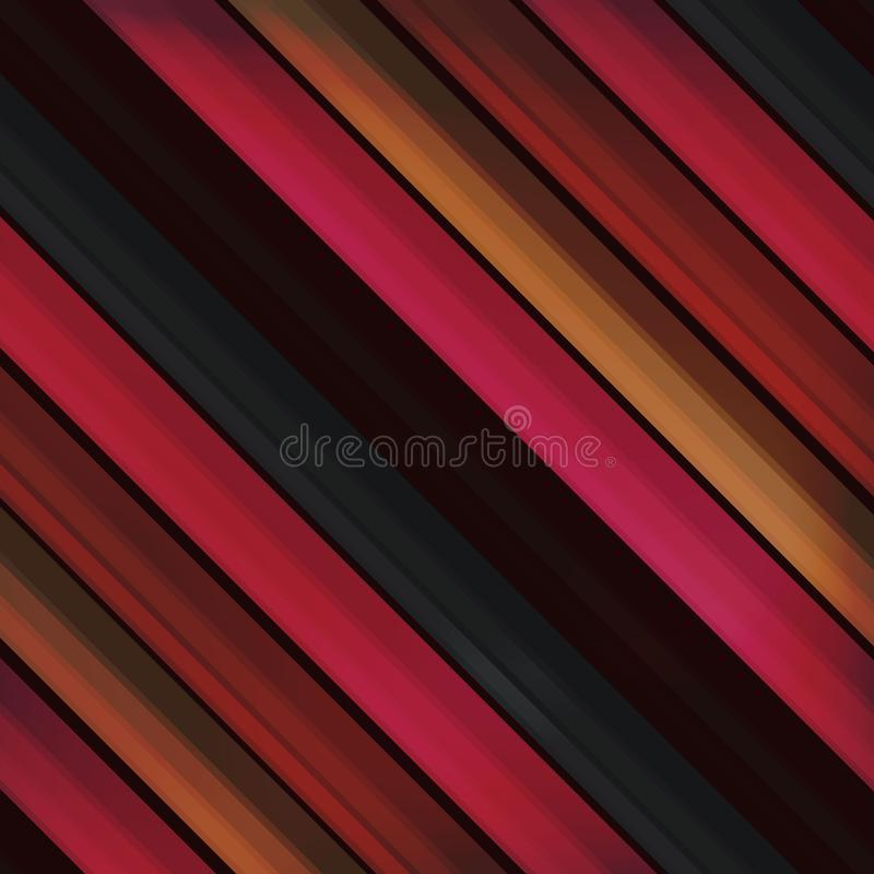 Set of colored pencils, modern seamless pattern. diagonal stripe in the style of realism. school background, 3d elements. for. Set of school pencils, seamless stock illustration