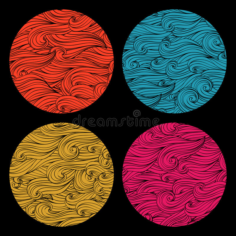 Download Set of colored round stock photo. Image of digital, blue - 38585384