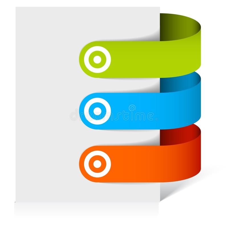Download Set Of Colorful Bookmarks Stock Photo - Image: 15784850