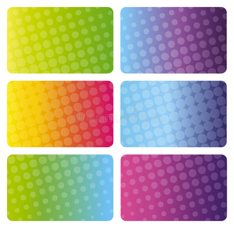 Download Set Of Colorful Business Cards Royalty Free Stock Images - Image: 6685929