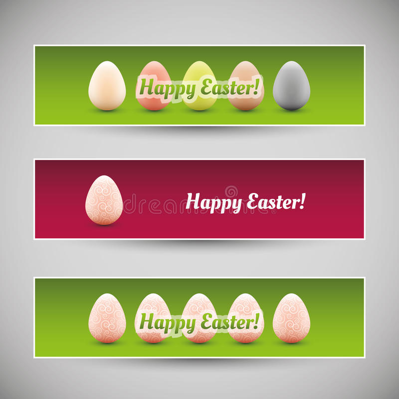 Download Happy Easter Banners Stock Image - Image: 29916021