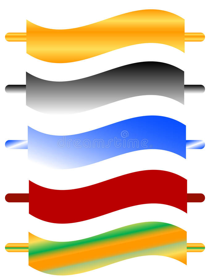 Download Set colors sticky stock vector. Image of curves, card - 10123040