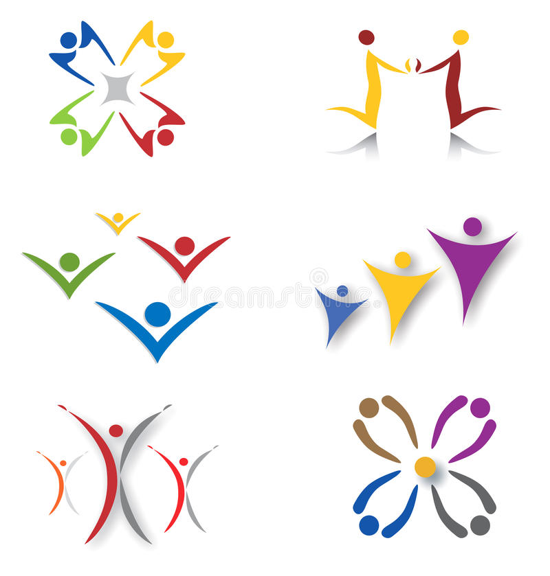 Download Set Of Community / Social Network Icons Stock Vector - Image: 15139259