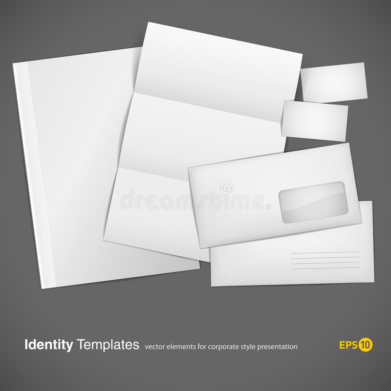 Download Set Of Corporate Identity Templates Stock Vector - Illustration: 17657863
