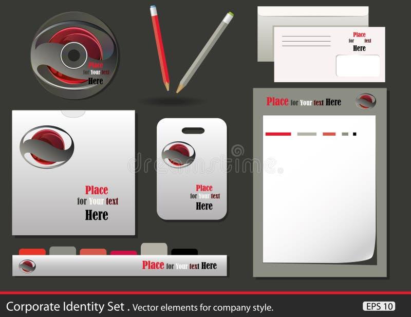Set Of Corporate Identity Templates Stock Photo