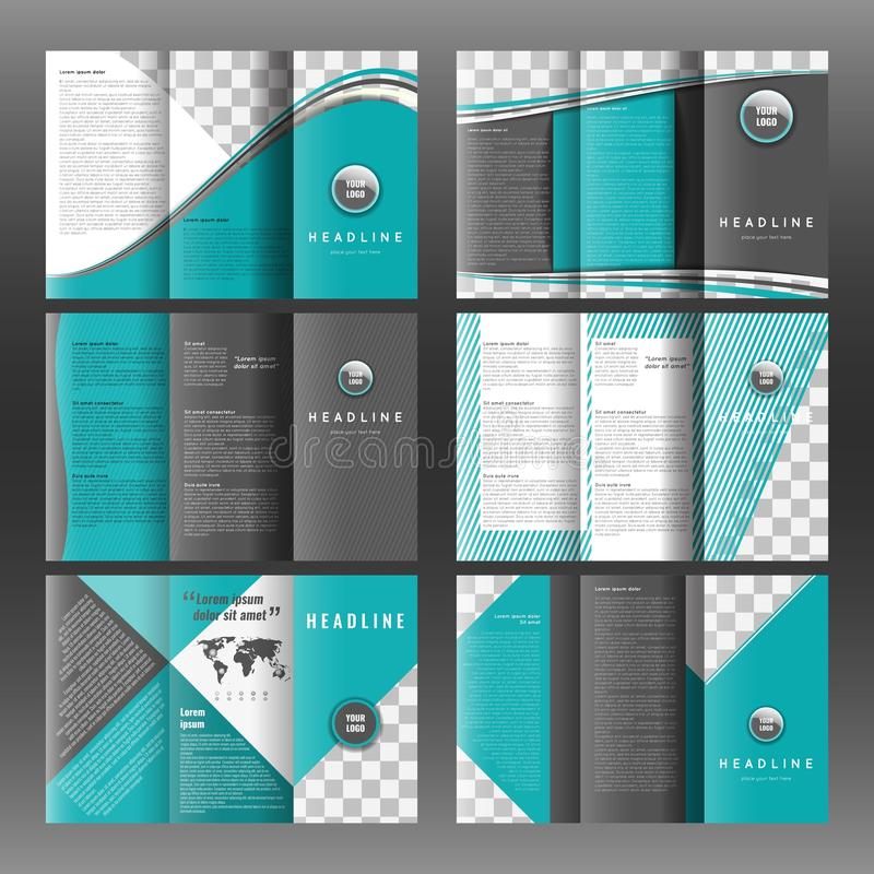 Set of corporate trifold brochure templates design with world map download set of corporate trifold brochure templates design with world map infographic element and place saigontimesfo