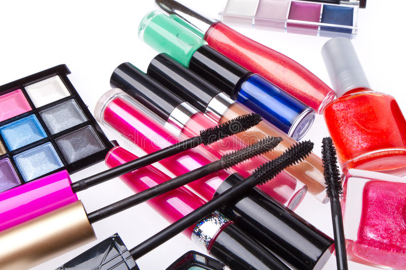Download Set of cosmetic products stock photo. Image of accessory - 23399344