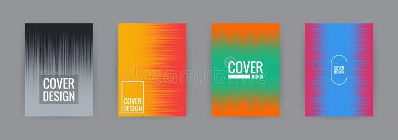 Set of cover background design template vector illustration vector illustration