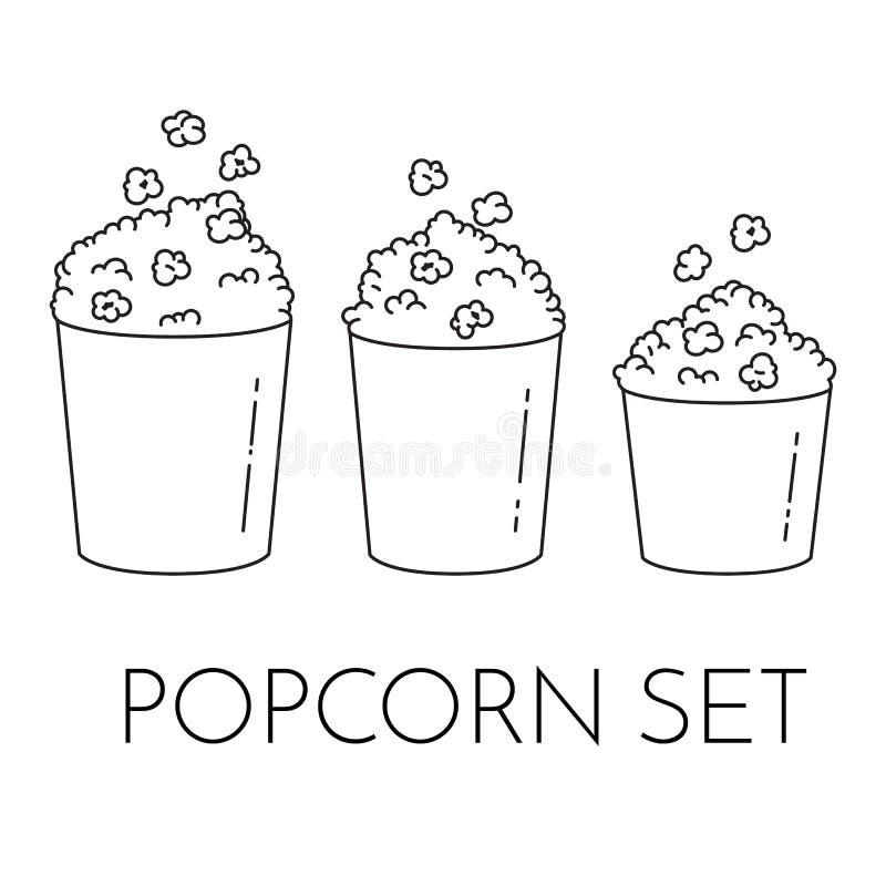 Popcorn Kernels Stock Illustrations – 310 Popcorn Kernels