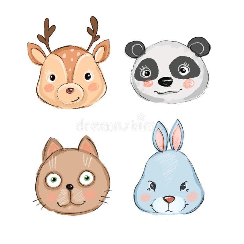 Baby Fox Ears Animal Ears Baby Dog Cat Lion Mouse Monkey Tiger Zebra Rabbit Bear
