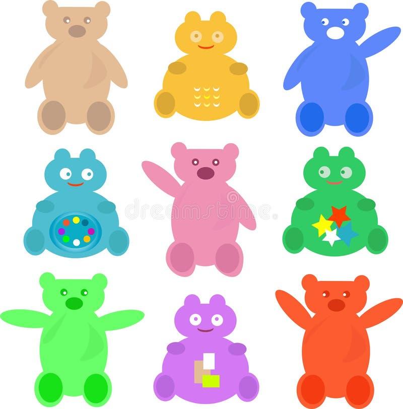 Download Set Cute Cartoon Animals Wallpaper Stock Vector - Illustration of comfortable, mascot: 20727475