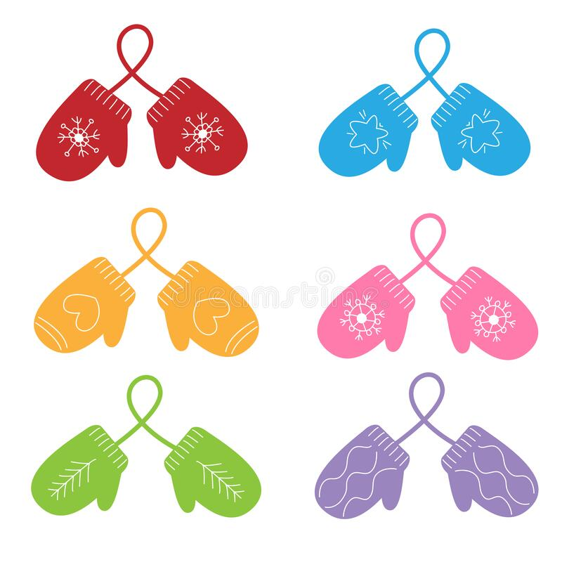 Pair Red Mittens Stock Illustrations – 334 Pair Red Mittens Stock  Illustrations, Vectors & Clipart - Dreamstime
