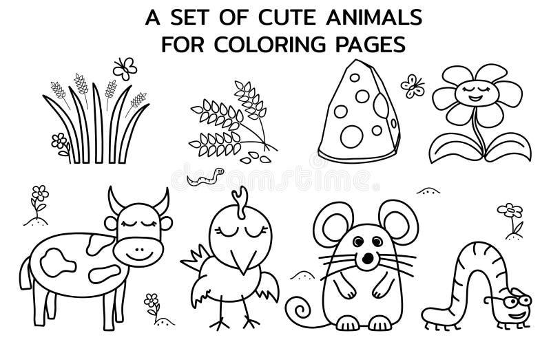Farm Animals Coloring Stock Illustrations – 1,377 Farm Animals Coloring  Stock Illustrations, Vectors & Clipart - Dreamstime
