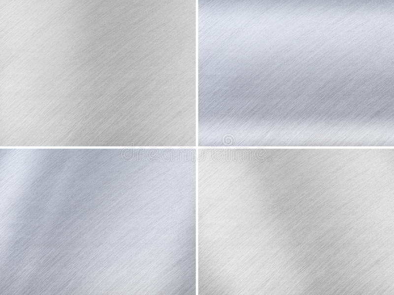 Download Set Of Dark And Light Grey Metal Textures Stock Illustration - Illustration: 26304504