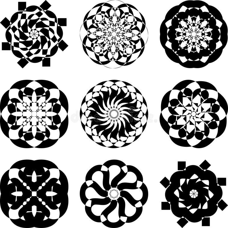 Download Set Of Decorative Elements Stock Photos - Image: 17969363