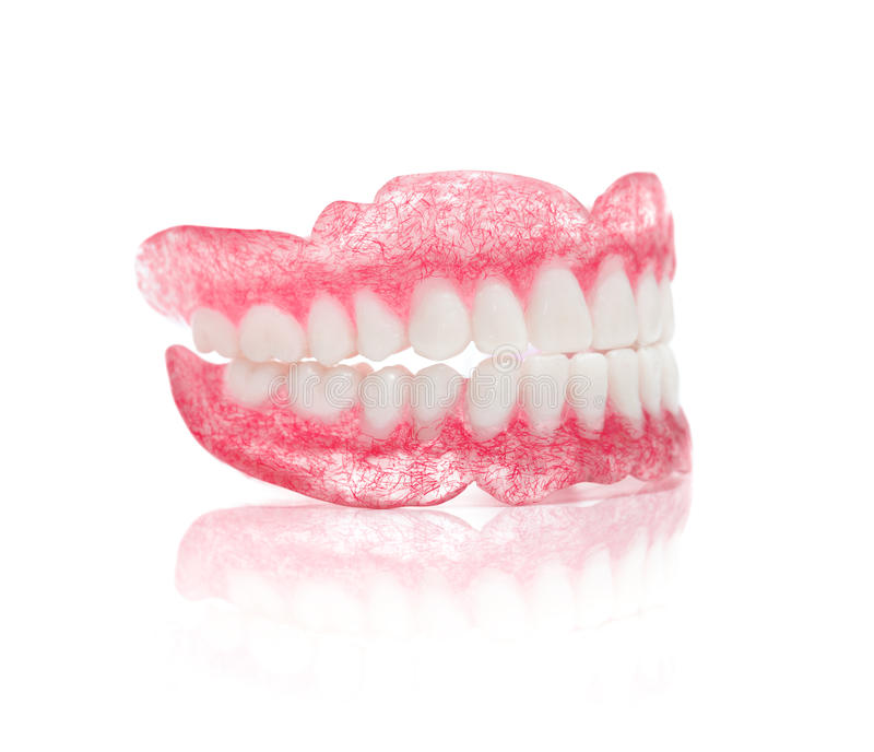 Set dentures obrazy royalty free
