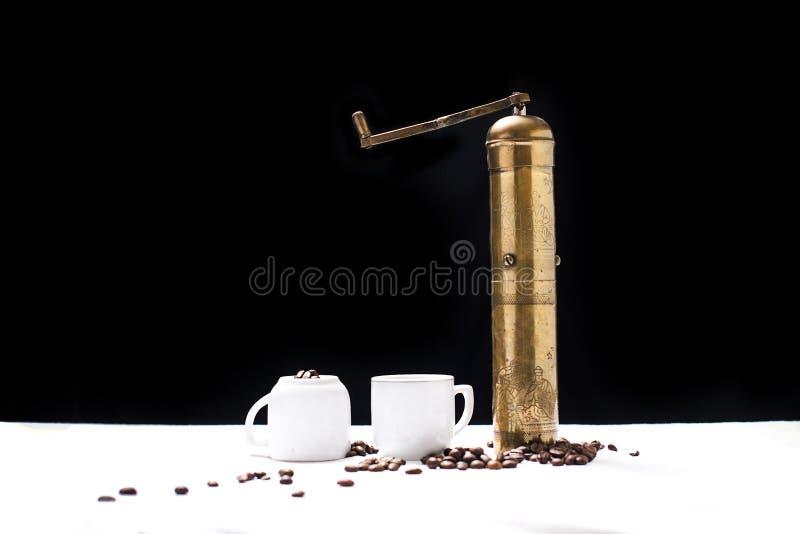Set des türkischen Kaffees stockbilder