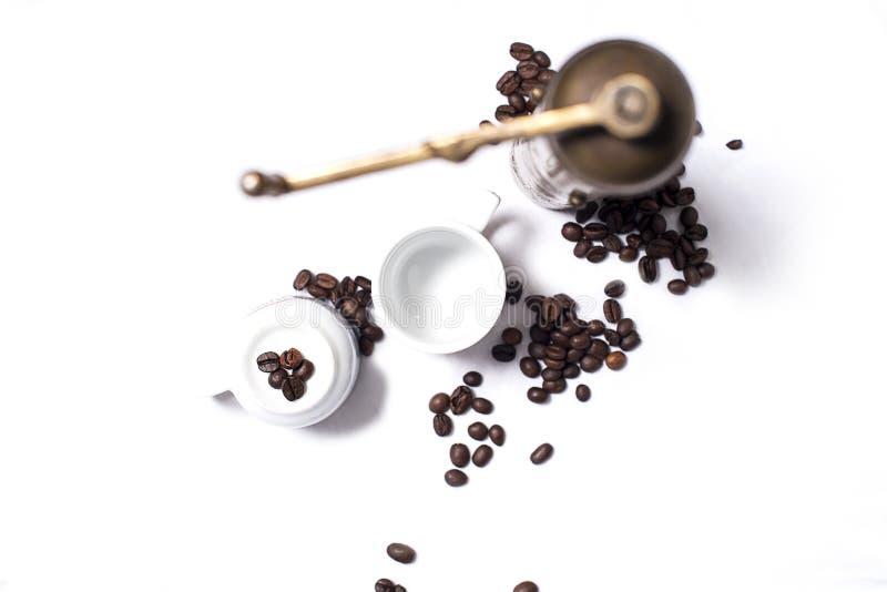 Set des türkischen Kaffees lizenzfreie stockbilder