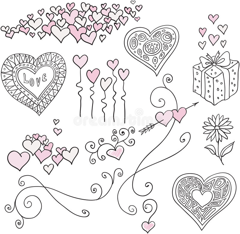 Set of design elements vector illustration
