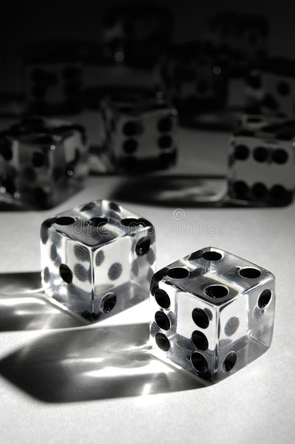 Download Set of Dice stock photo. Image of transparent, rolling - 20947970