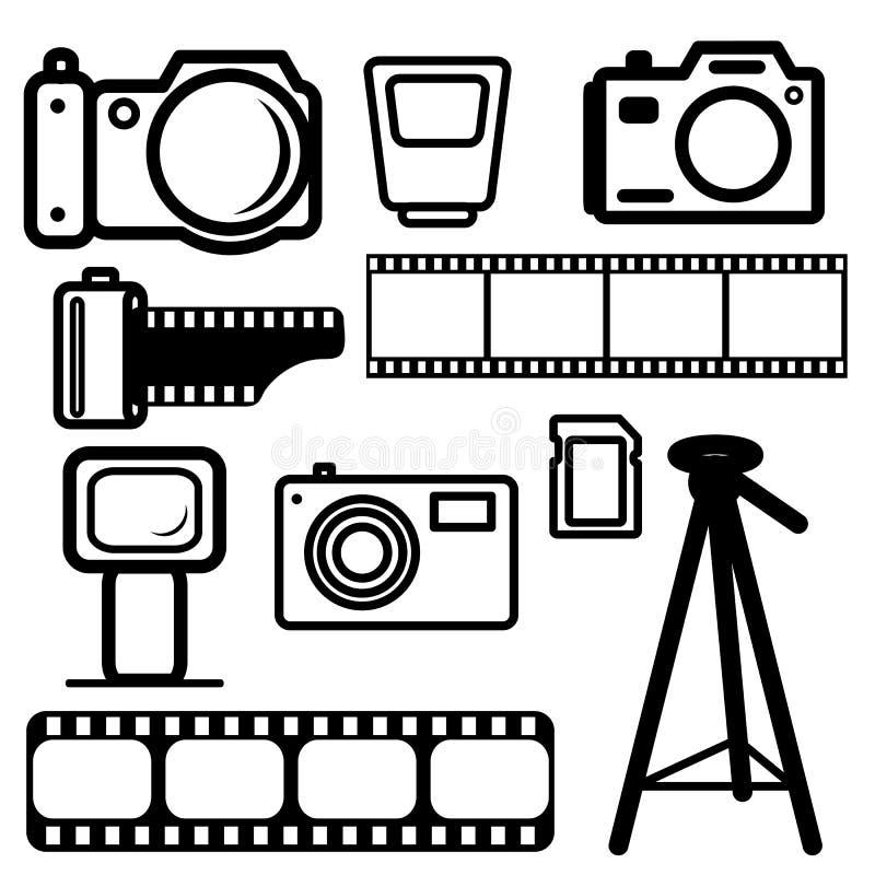 A set of digital cameras