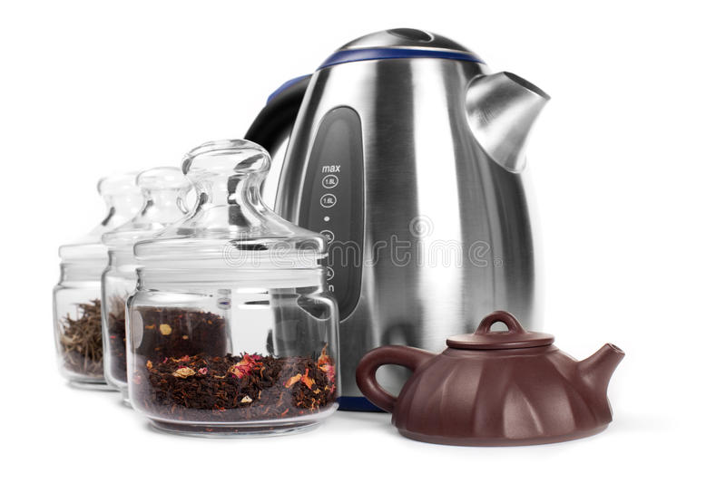Download Set for drinking tea stock image. Image of appliance - 12903461