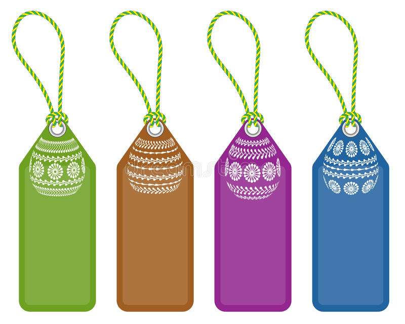 Download Set of easter tags stock vector. Image of label, vector - 38693334