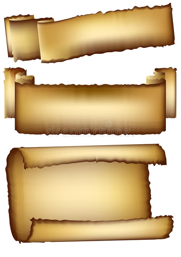 Set Of Empty Retro Banners Royalty Free Stock Photography