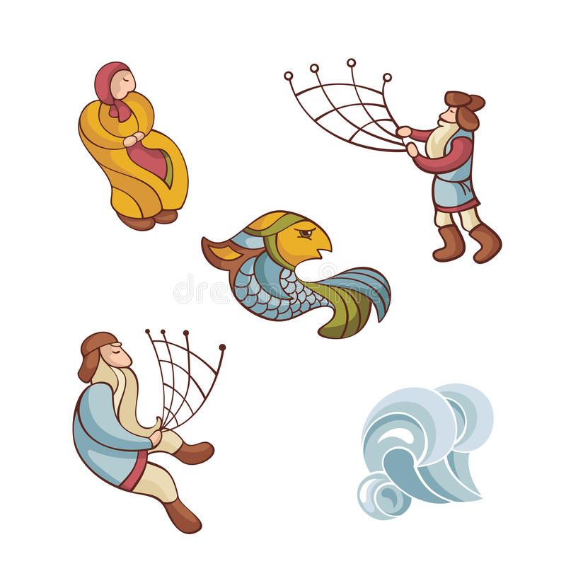 Download Set Of Fairytale Characters Stock Vector - Image: 18194836