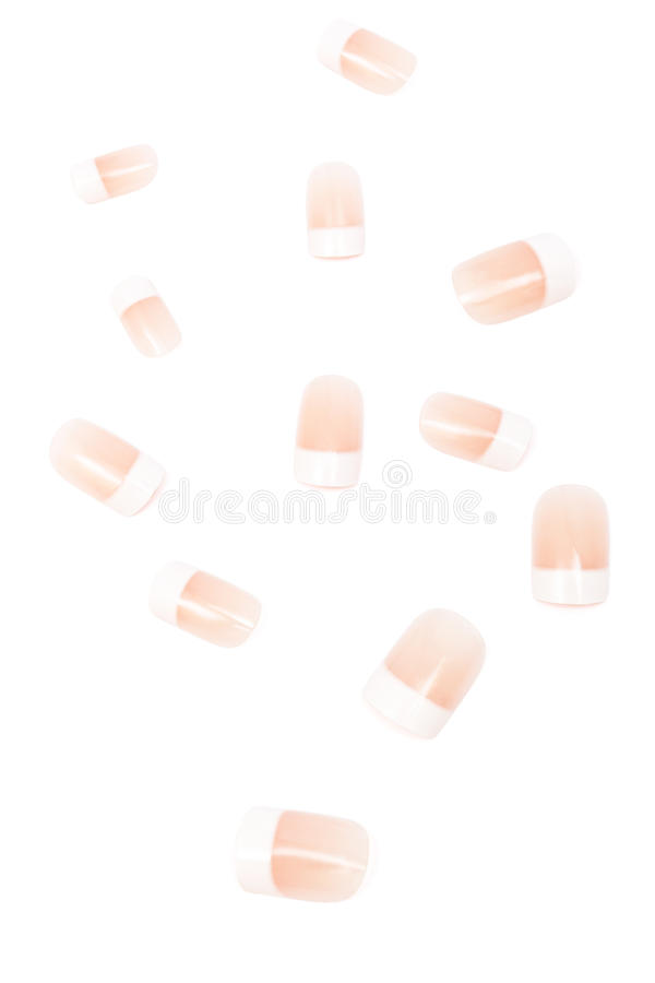 Set Of False Nails Stock Image