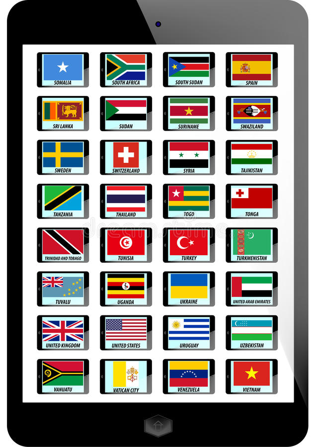 Download Set Of Flag Royalty Free Stock Photo - Image: 30337485
