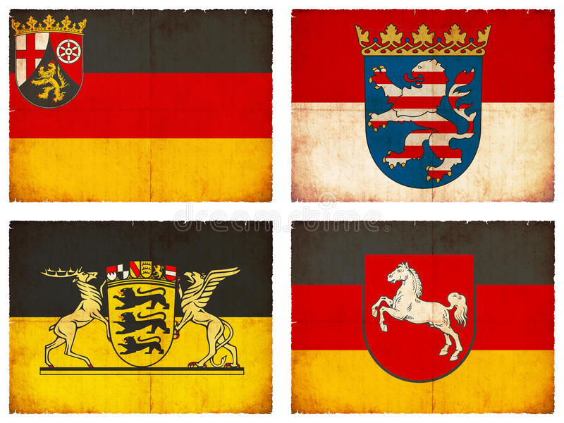 Set of flags from Germany #1