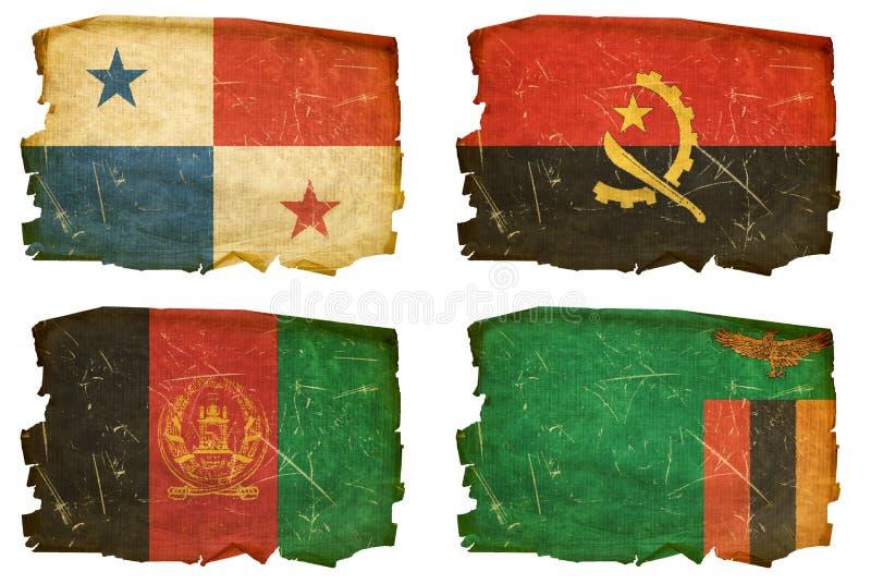 Set Flags old # 17 vector illustration