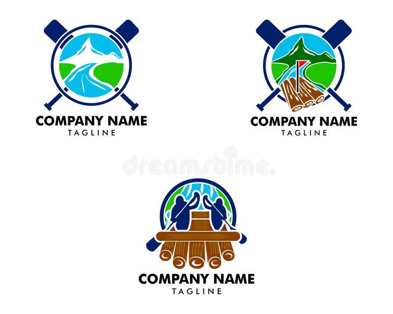 Set flisactwo logo projekta wektoru szablon ilustracja wektor
